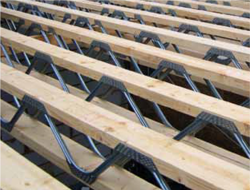 Jsi timber frame timber frame houses roof trussers Floor joist trusses